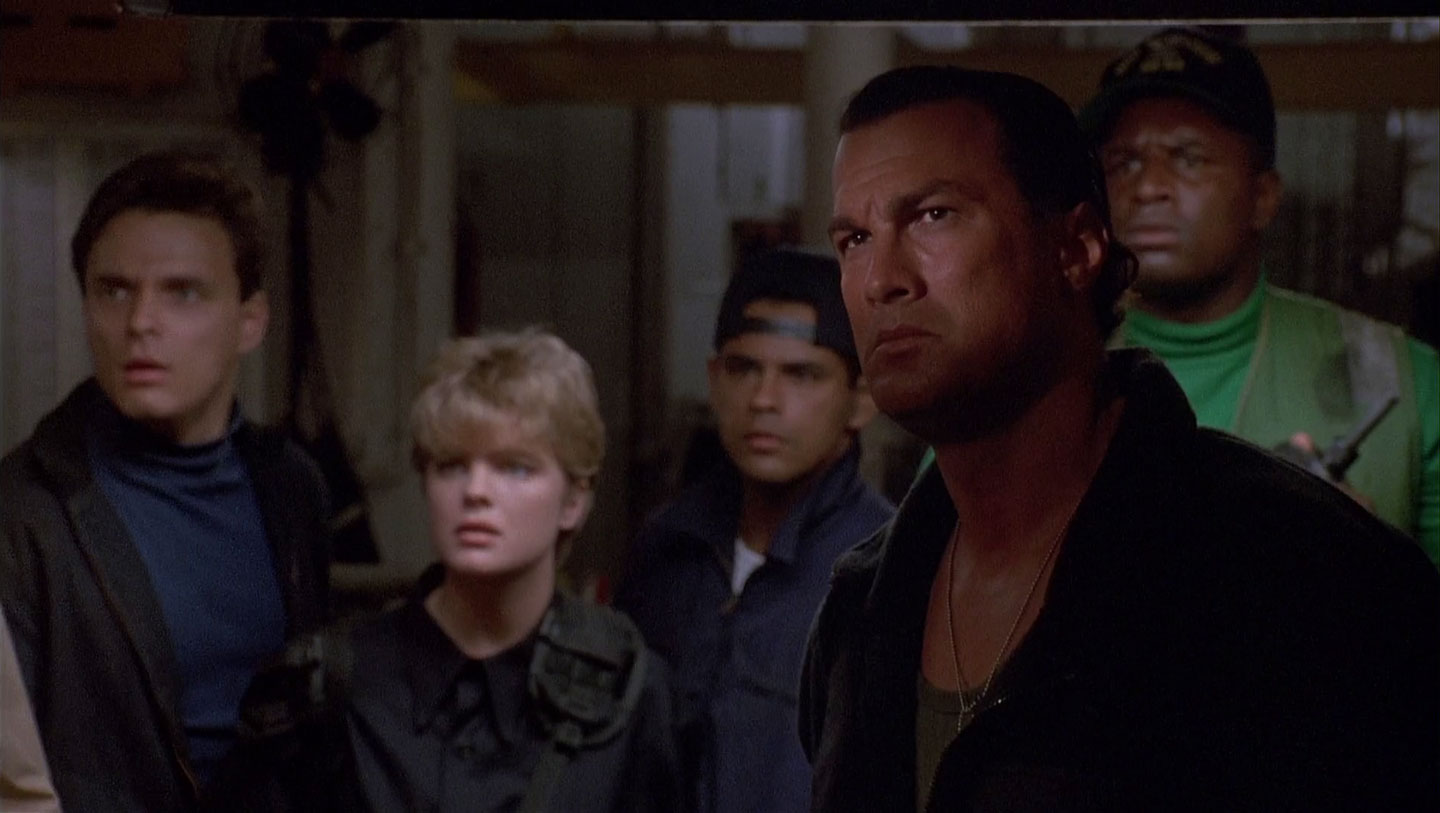 Steven Seagal and Erika Eleniak are Under Siege