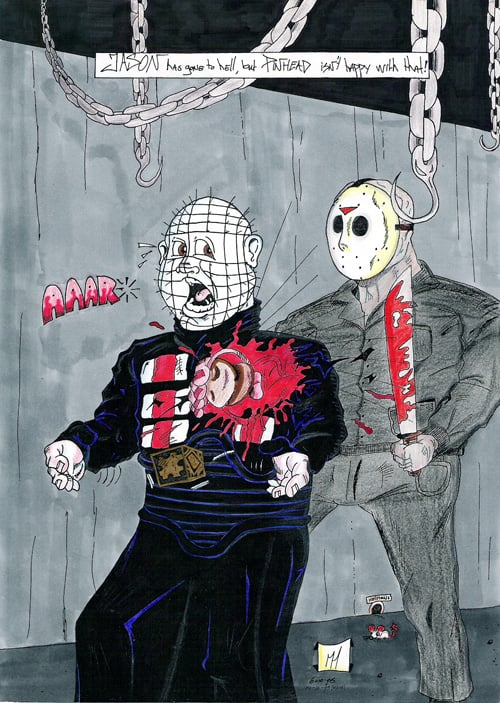 Pinhead vs Jason #1