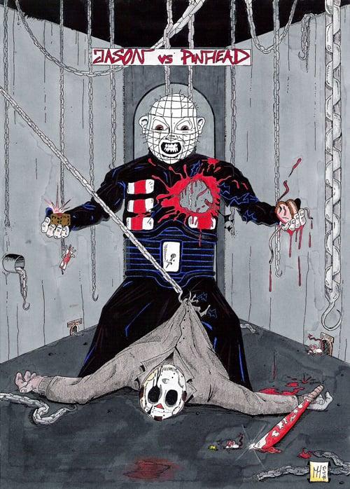 Pinhead vs Jason #2