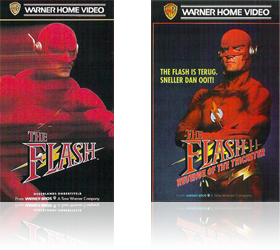 Dutch VHS covers of The Flash