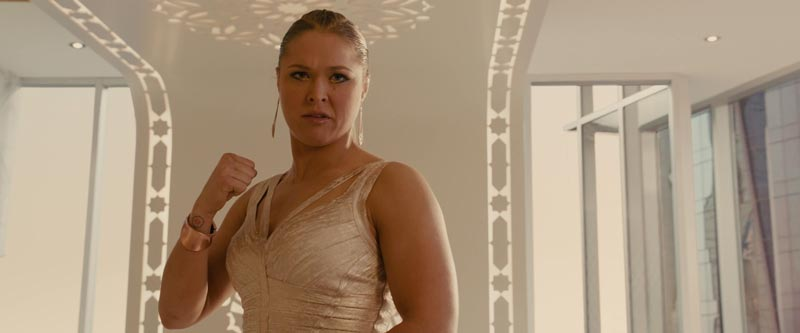 Ronda Rousey in Furious 7