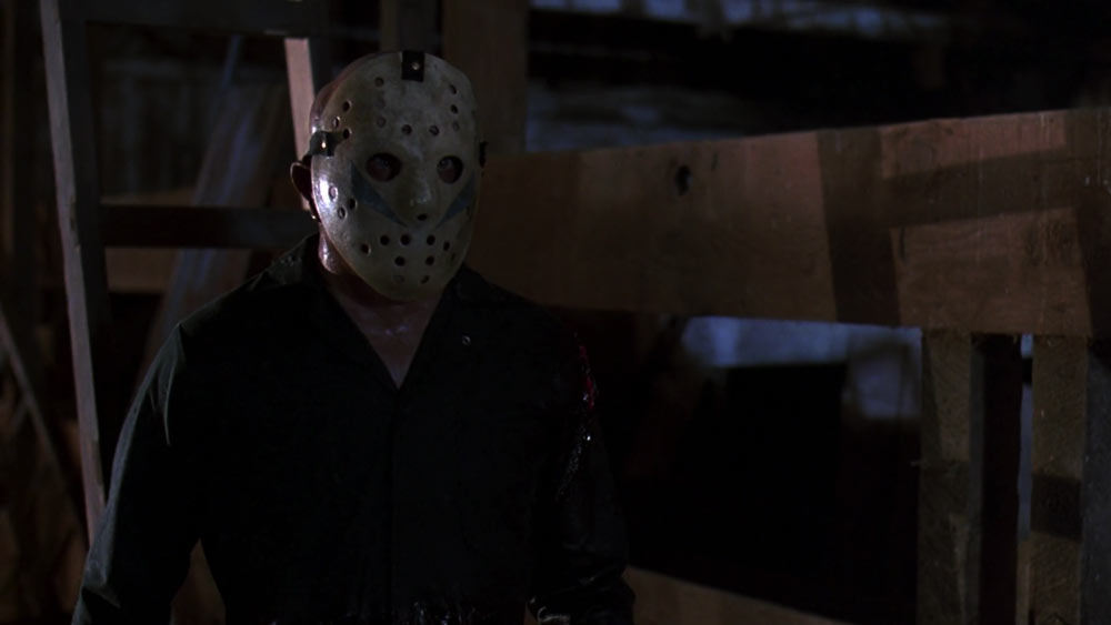 Tom Morgan as Jason Voorhees in Friday the 13th: A New Beginning