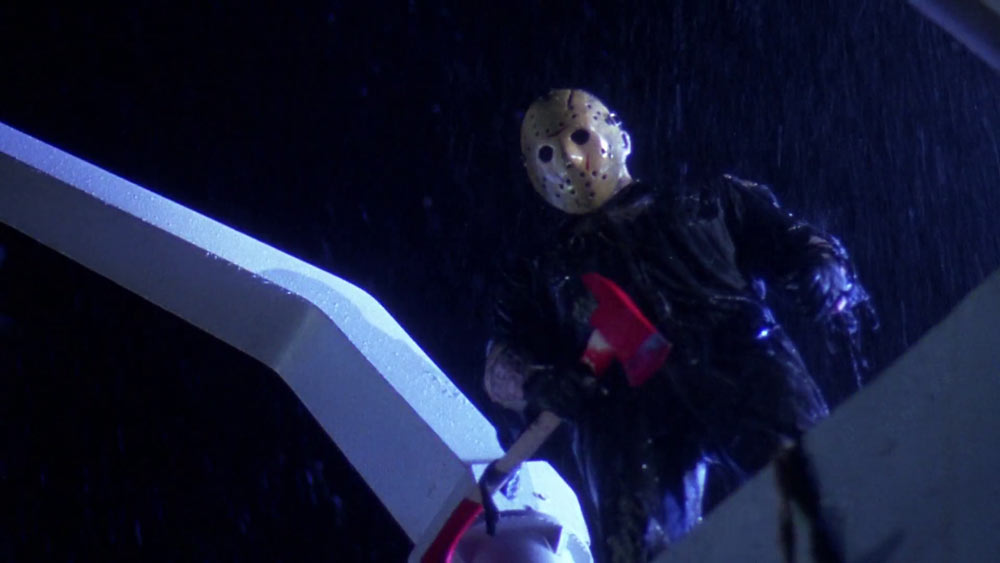 Kane Hodder as Jason Voorhees in Friday the 13th Part VIII: Jason Takes Manhattan