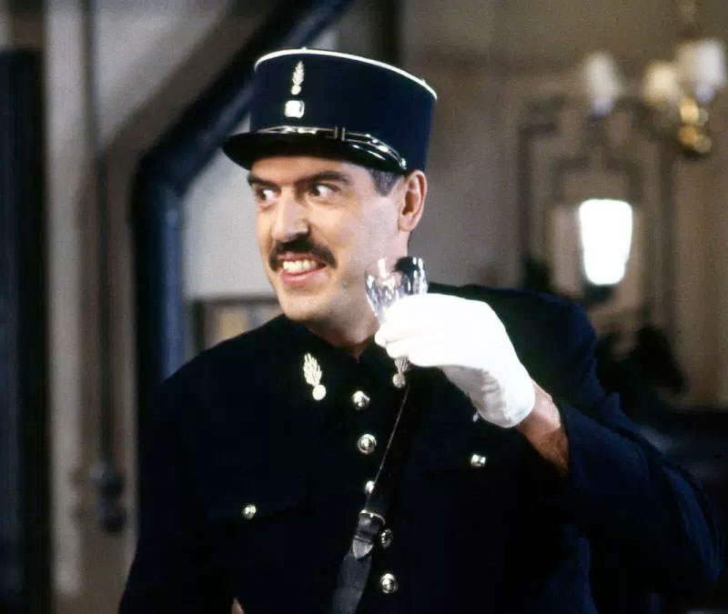 Arthur Bostrom as Officer Crabtree in 'Allo 'Allo!