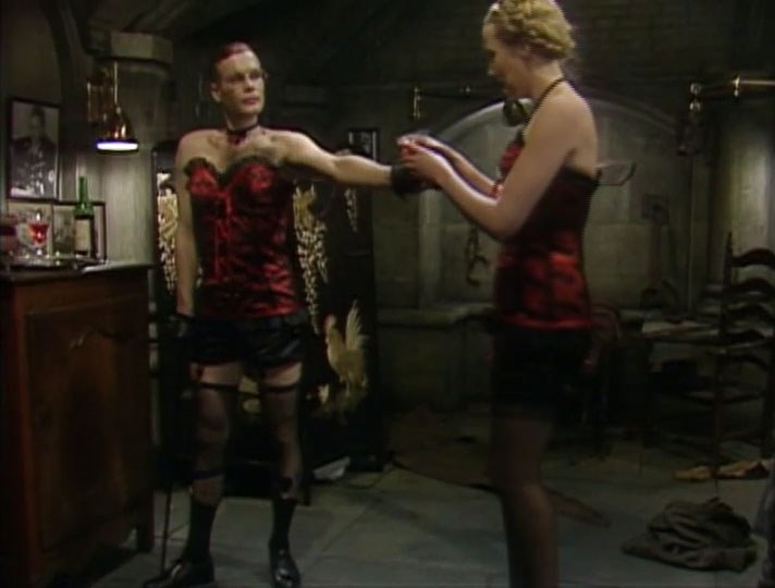 Richard Gibson and Kim Hartmann in 'Allo 'Allo!