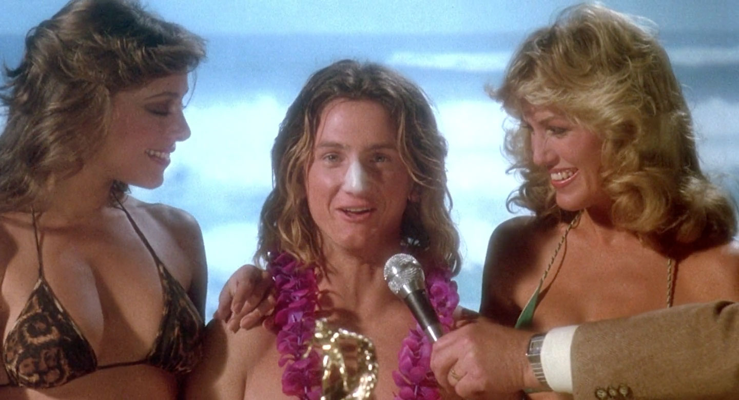Sean Penn as Jeff Spicoli in Fast Times at Ridgemont High