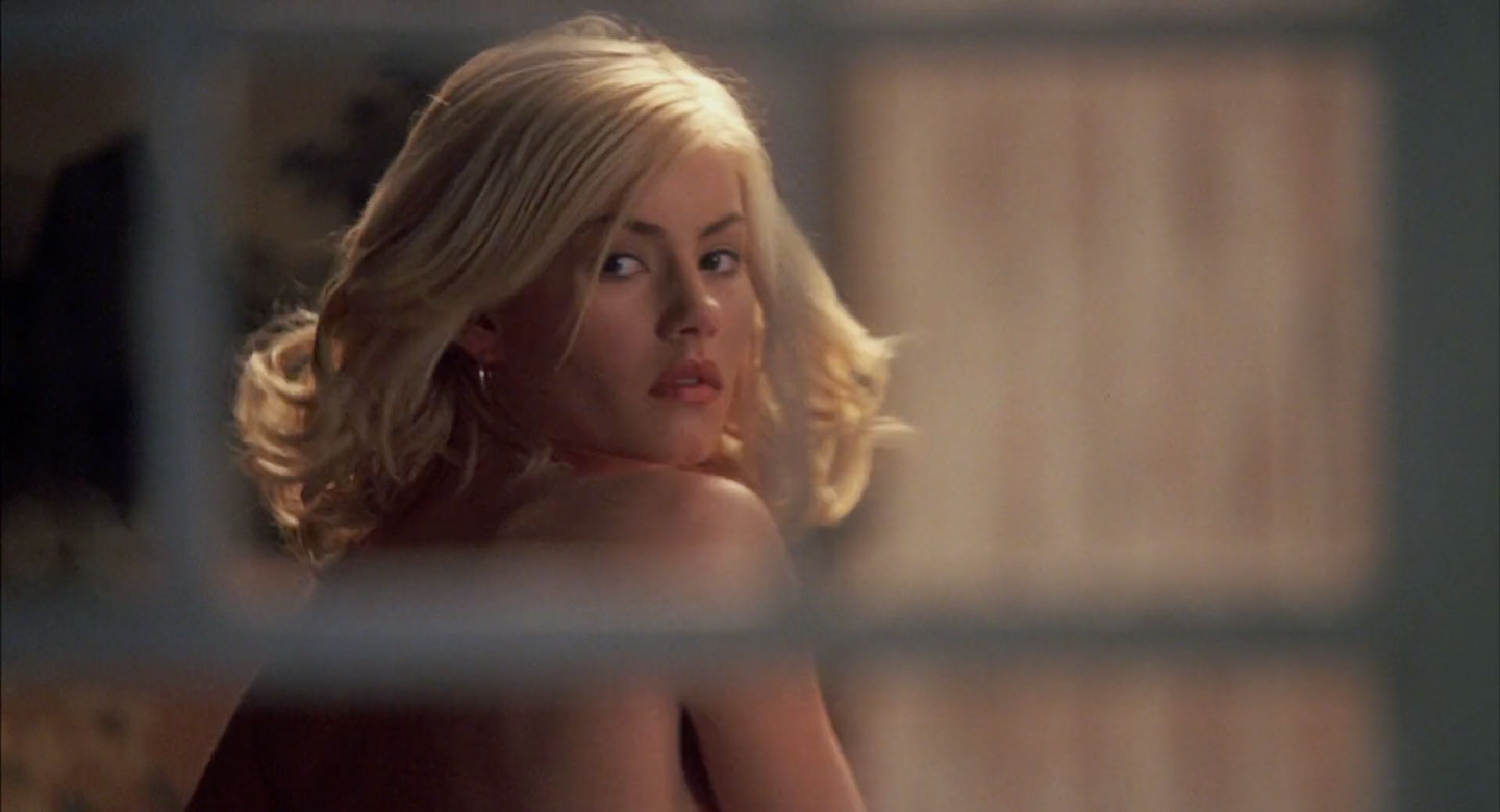 Elisha Cuthbert undressing in The Girl Next Door