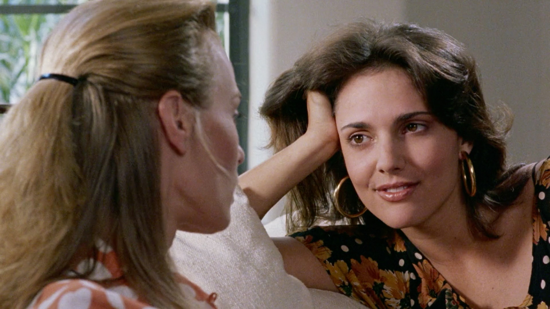 Ashley Laurence and Mimi Craven in Mikey